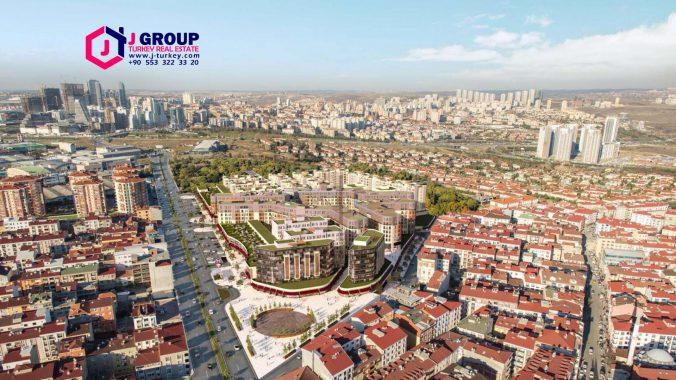شقق في مشروع سكني للبيع في مدينة اسطنبول